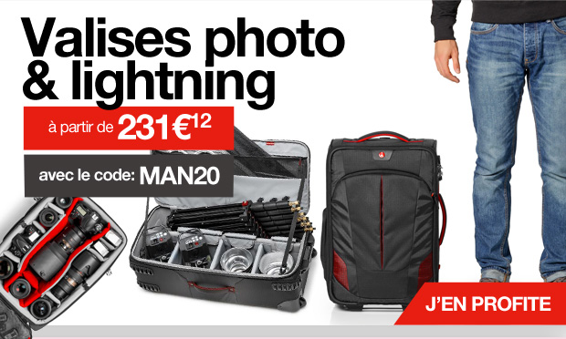 Valises photo & lightning