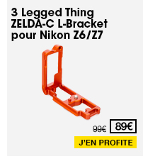 3 Legged Thing ZELDA-C L-Bracket pour Nikon Z6/Z7