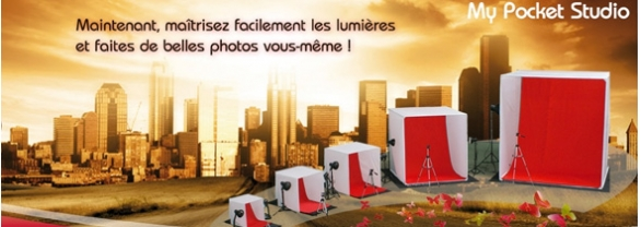 Kit studio portatif de My Pocket Studio mps40 mps60 mps80 mps135 mps210