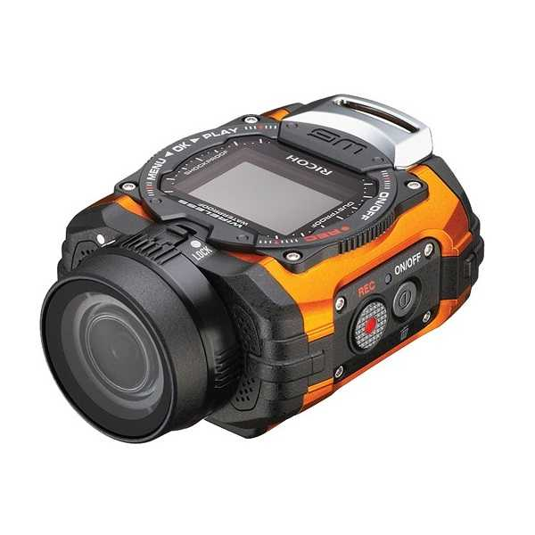 DIGIXO - Camera embarquee WG-M1 Orange