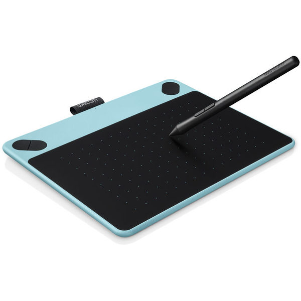 Wacom Tablette graphique Intuos Comic Pen Touch Small bleu CTH490CB